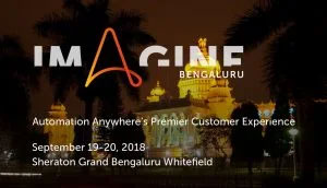Imagine, Automation Anywhere – 2018
